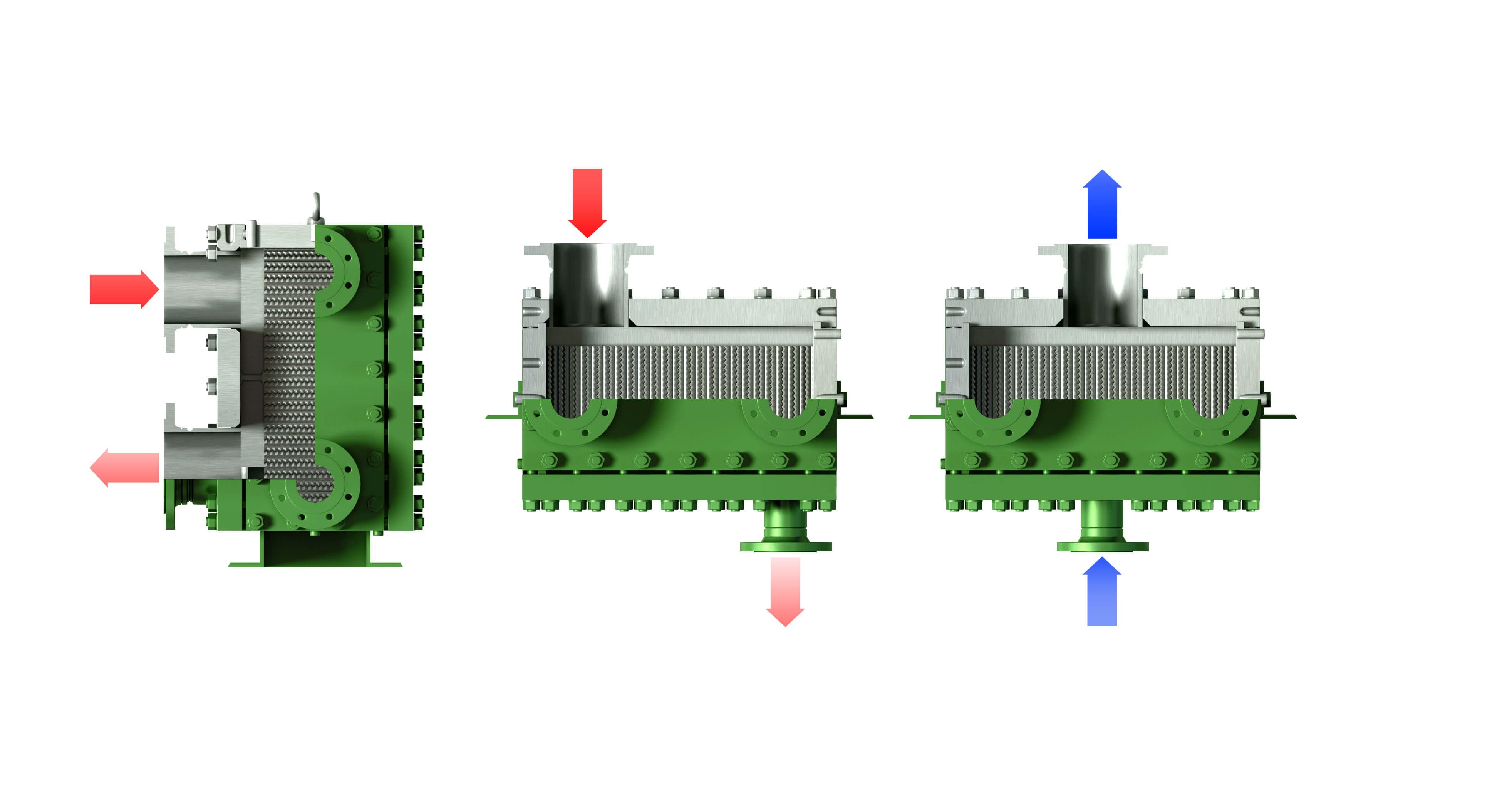 Welded plate heat exchanger : remarkable efficiency, unique design