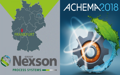 NEXSON GROUP AT THE ACHEMA EXHIBITION 2018