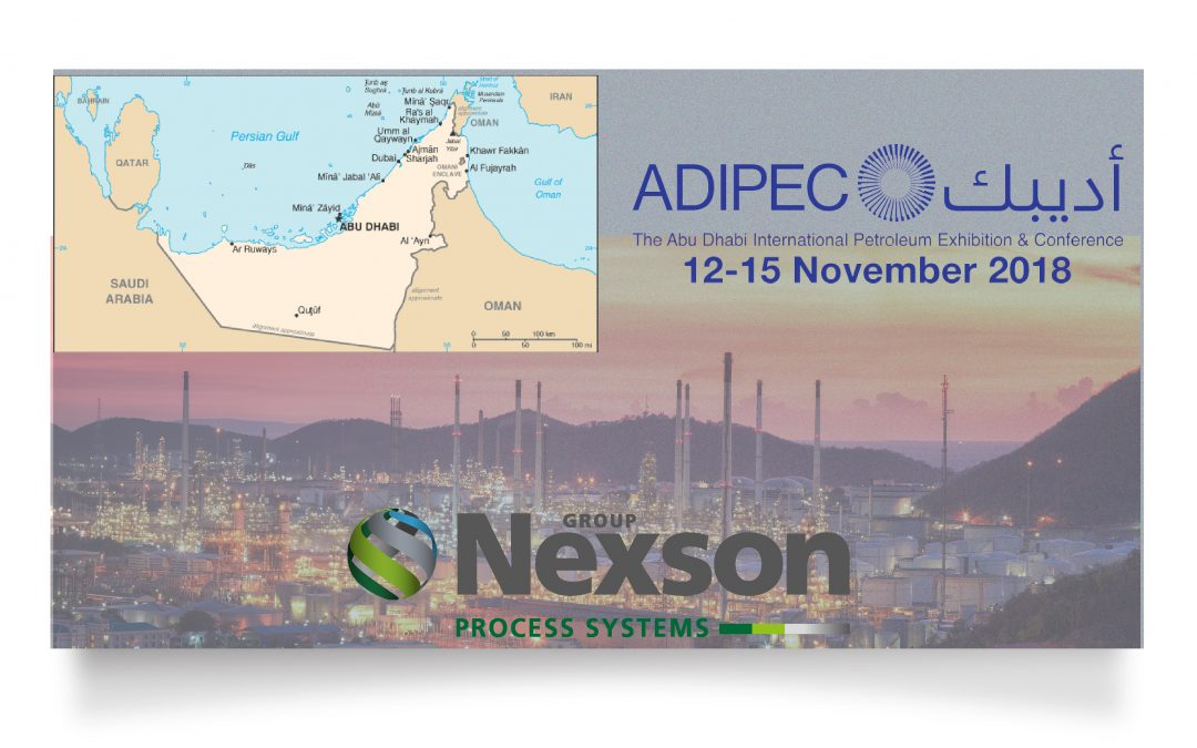 NEXSON GROUP AT THE ADIPEC 2018 EXHIBITION