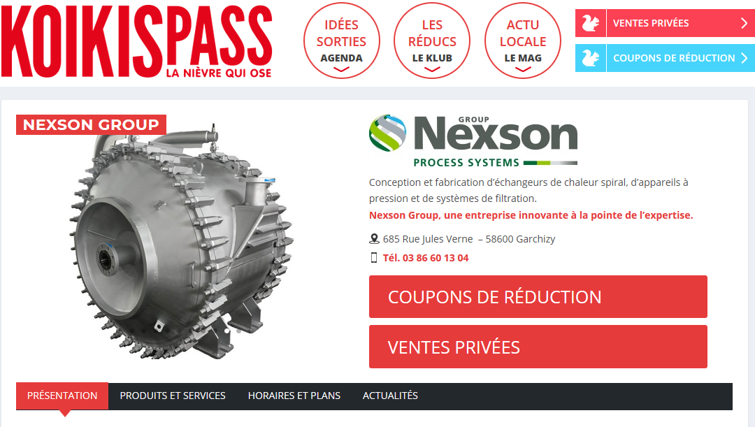 NEXSON GROUP JOINS KOIKISPASS KLUB