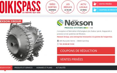 NEXSON GROUP REJOINT LE KLUB KOIKISPASS