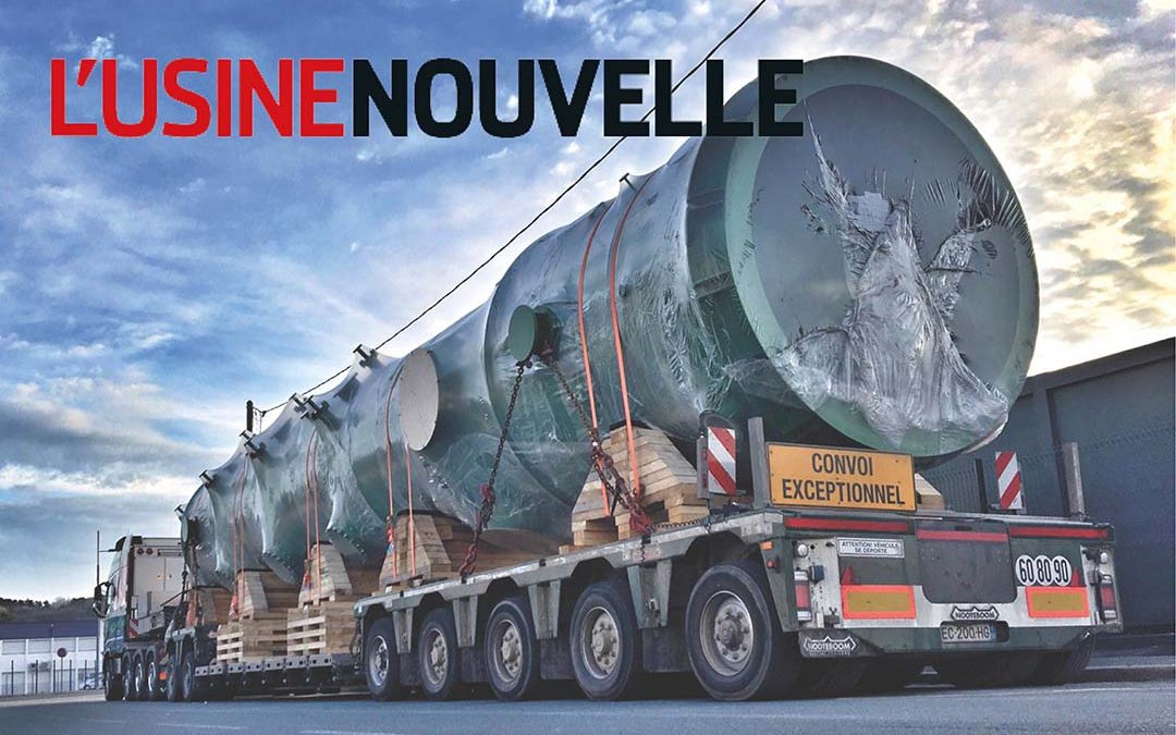 NEXSON GROUP IN THE USINE NOUVELLE MAGAZINE