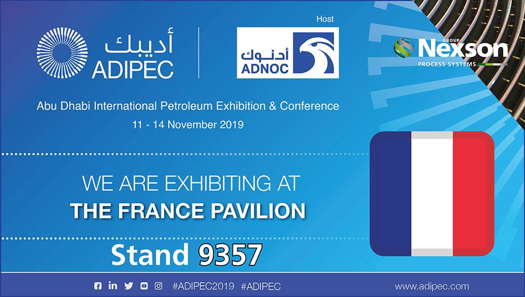 NEXSON GROUP AU SALON ADIPEC 2019