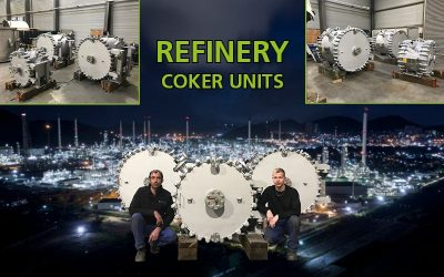 Coker units for refineries