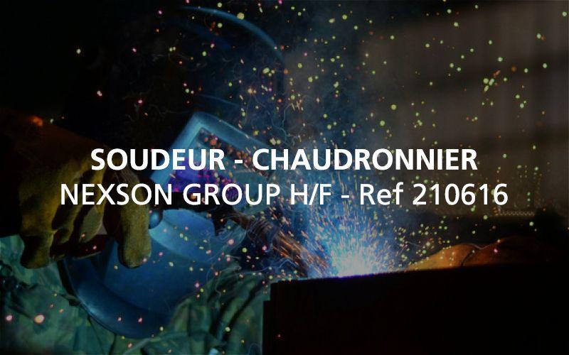 Recherche Chaudronnier / Soudeur H/F